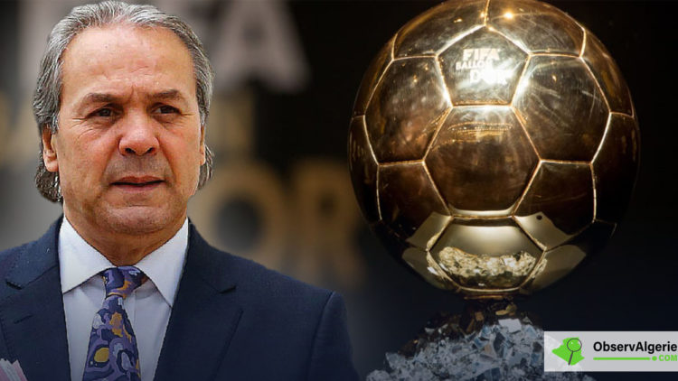 Montage : Rabah Madjer - Ballon D'or Fifa